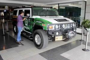 Este es la 'Hummer' que perteneció al narcotraficante alias 'Don Mario'.  Mauricio Betancourt GENTE DE CAÑAVERAL
