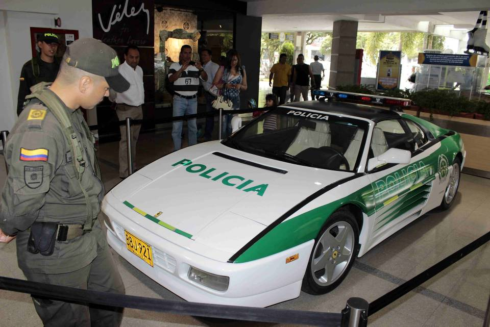 La caminoneta lleva más de 5 años con la Policía