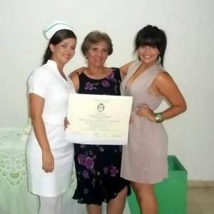 Paola Roballo, Hercilia Moreno, Stefanya Roballo. - Suministrada /GENTE DE CAÑAVERAL