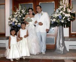 Laura María Bedoya y Óscar Eduardo Higuera, Silvia Juanita Ruiz, Silvia Amado Ruiz. - Mauricio Betancourt/GENTE DE CAÑAVERAL