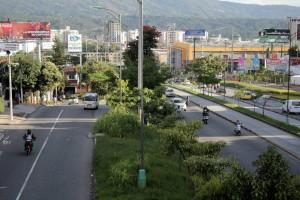En este tramo se alzará el intercambiador de El Bosque. - Imagen Archivo / GENTE DE CAÑAVERAL