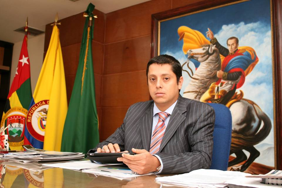 Néstor Fernando Díaz Barrera hizo oficial su renuncia como Alcalde de Floridablanca el pasado 9 de septiembre / GENTE DE CAÑAVERAL
