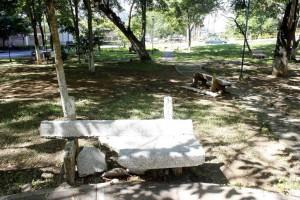 La comunidad pide mantenimiento para el parque, por su parte la Alcaldía pide colaboración a la comunidad.  - Mauricio Betancourt /GENTE DE CAÑAVERAL