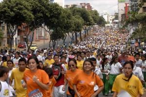 Las personas interesadas en participar en el cuarto de maratón se pueden inscrbir desde ya.  - Imagen Archivo /GENTE DE CAÑAVERAL