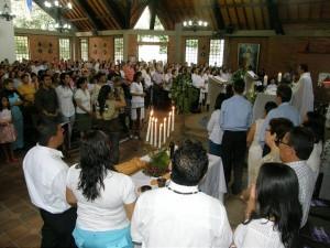 La parroquia celebrará el día de su patrona.  - Imagen Archivo /GENTE DE CAÑAVERAL