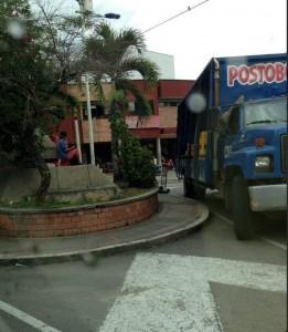 La comunidad se queja de la falta de autoridad en la fuente de Cañaveral.  - Imagen Suministrada /GENTE DE CAÑAVERAL