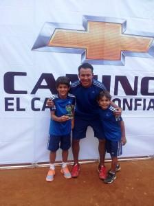Cabe destacar que el deportista también participó de un torneo prenacional en Barranquilla donde se quedó con el título. - Imagen Suministrada / GENTE DE CAÑAVERAL