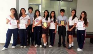 Los estudiantes que participaron en esta jornada se llevaron los primeros puestos.  - Imagen Suministrada/GENTE DE CAÑAVERAL
