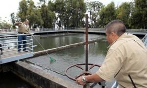Cortes de agua en el sector El Bosque. Imagen suministrada GENTE DE CAÑAVERAL.