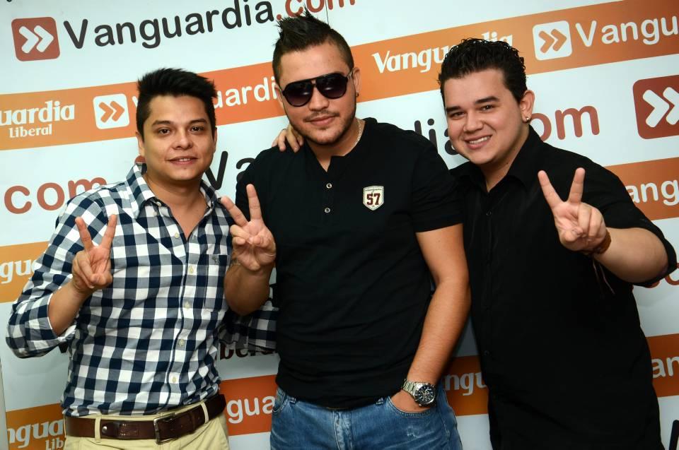 Estos tres jóvenes pasaron directo a las batallas en la Voz Colombia 2013. Hernando Galenao / GENTE DE CAÑAVERA