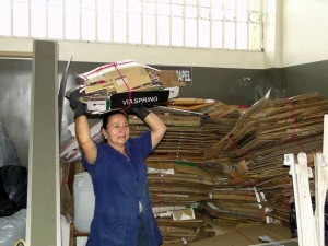 El Centro Comercian Cañaveral tiene su propio sistema de reciclaje. Imagen suministrada / GENTE DE CAÑAVERAL