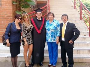 Margy González Rangel, Laura Rojas González, Nelson Rojas González, Denis González Rangel y Amadeo Rojas Ortiz. - Sumonistrada /GENTE DE CAÑAVERAL