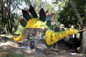 El próximo primero de diciembre se realizará la apertura del Jardín Botánico con una iluminación especial de Navidad.  - Javier Gutiérrez / GENTE DE CAÑAVERAL