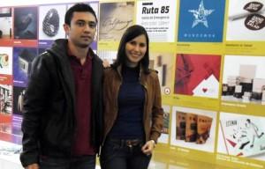 Claudia Rueda y Diego Cáceres, egresados de la UDI, se llevaron un premio interancional de diseño.  - Imagen suministrada/GENTE DE CAÑAVERAL