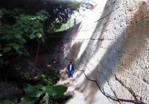 Estos son algunos de los grandes muros que construye este hombre con su técnica.  - Imagen Suministrada /GENTE DE CAÑAVERAL