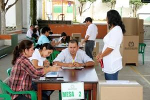 Las elecciones se cumplirán a partir de las 8 a.m. y hasta las 4 p.m. de este domingo. Los resultados se conocerán el mismo día. - Archivo / GENTE DE CAÑAVERAL