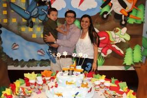 Mateo Jurado Sánchez, Ricardo Alonso Jurado, Paola Andrea Sánchez. - Nelson Dïaz/GENTE DE CAÑAVERAL