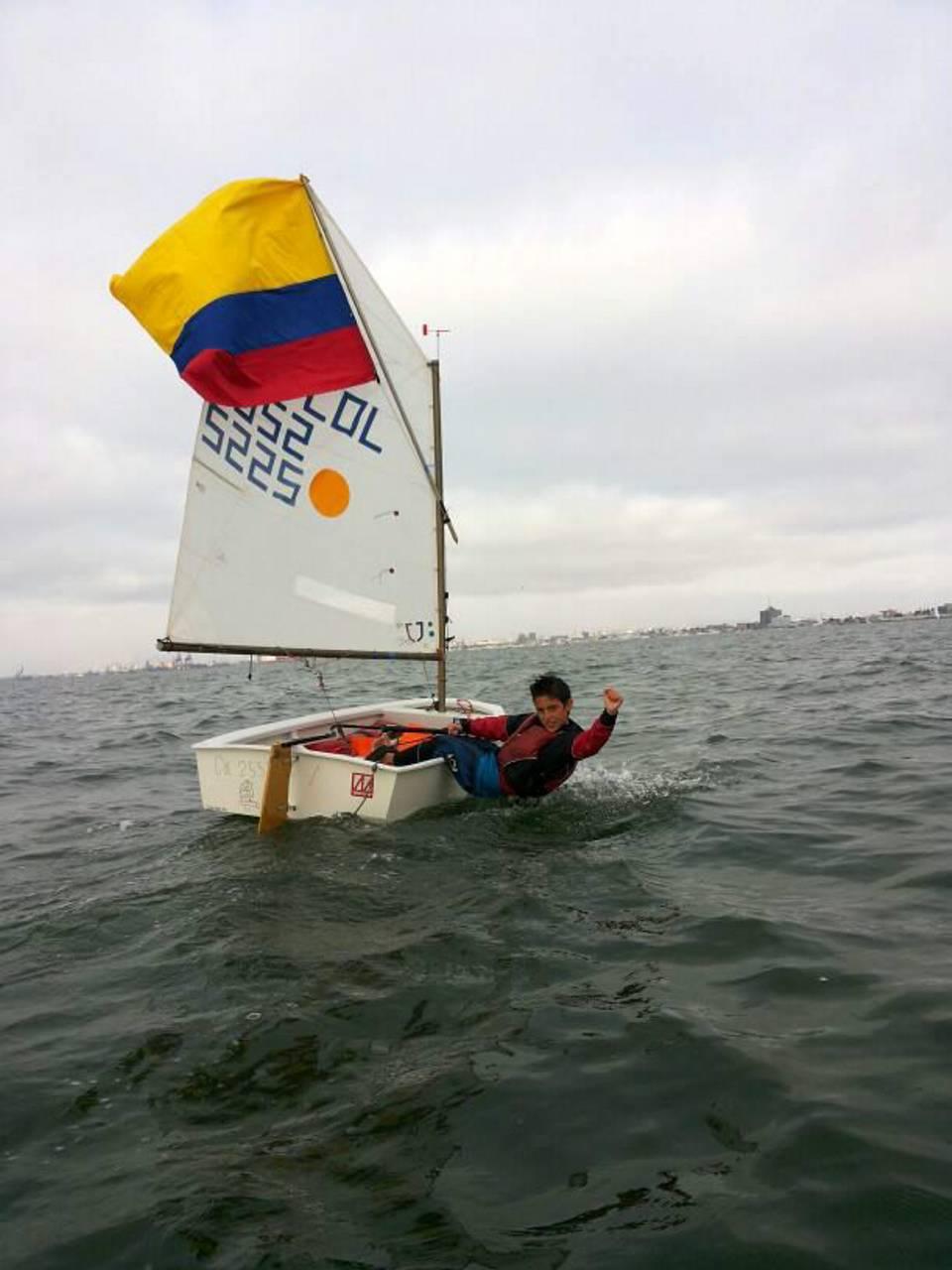 Con tan sólo 12 años, se coronó como el mejor navegante en Perú