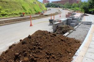 Se espera que en los próximos días sea entregado el primer tramo del corredor vial Trasnversal El Bosque, según el AMB solo falta un tramo por asfalto. - Imgen Archivo /GENTE DE CAÑAVERAL