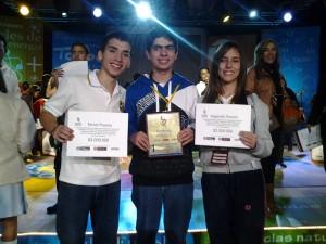 Mariana Ridríguez Serrano junto a sus compañeros de competencia en las pruebas el pasado 30 de noviembre.  - Imagen Suministrada/GENTE DE CAÑAVERAL