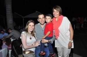 Tatiana González, Juan David Villamizar, Juan Emilio Villamizar, Janeth González. - Laura Herrera /GENTE DE CAÑAVERAL