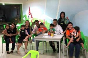 Carol Pastrana, Diego Orejarena, Adriana Quintero, Carlos Andrés Gómez, Claudia Corzo, Clara B. Orejarena.  - Imagen suministrada/GENTE DE CAÑAVERAL