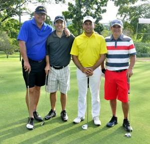 Carlos Alberto Rojas, Mauricio Angarita, Henry López, Eduardo Uribe. - Fotos: Laura Herrera/GENTE DE CAÑAVERAL