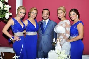 Erika Díaz, Paola Díaz, Cristian Rodríguez, Adriana Díaz,  Mónica Marcela Díaz.