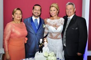 Cecilia Forero, Cristian Rodríguez, Adriana Díaz, Miguel Díaz.  - Fotos: Laura Herrera /GENTE DE CAÑAVERAL