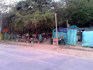 Este es el terreno que está a un costado de la construcción de la clínica.  - Imagen suministrada/GENTE DE CAÑAVERAL