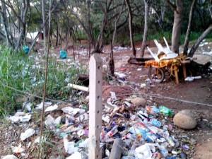 Los desechos abundan en la zona vede.  - Imagen suministrada/GENTE DE CAÑAVERAL