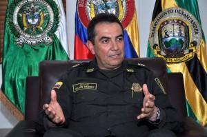 El comandante dice que necesta la colaboración de la Alcaldía para acabar con los focos de deliccuencia.  - Didier Niño/GENTE DE CAÑAVERAL