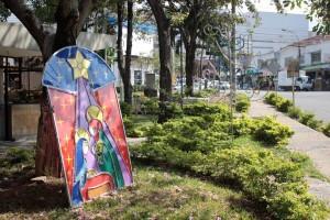 Adornos como este y varias iluminaciones se mantuvieron hasta febrero en el parque La Pera. - Javier Gutiérrez /GENTE DE CAÑAVERAL
