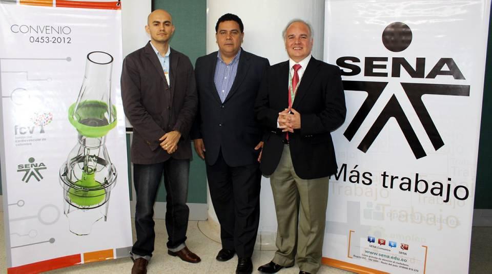 El Sena y la FCV unieron esfuerzos para la creación de estos dispositivos. Cada institución hizo un aporte del 50 %