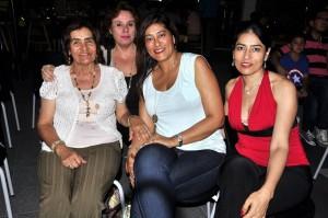 Eva de Navas,  Estella Guerrero, Marta Cecilia Navas y Jaqueline Navas.  - Laura Herrera/GENTE DE CAÑAVERAL