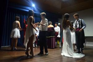 Esta fue la obra Romeo y Julieta.  - Suministrada/GENTE DE CAÑAVERAL