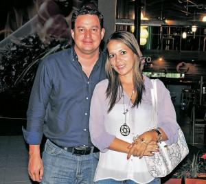 Carlos Andrés Rodríguez y Mónica Barragán.  - Laura Herrera /GENTE DE CAÑAVERAL