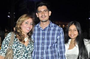 Deisy Ardila, Carlos Aldana  y Saray Suárez.  - Laura Herrera/GENTE DE CAÑAVERAL
