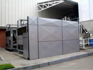 Así son las barreras que buscan mitigar el ruido que se genera desde el centro comercial.  - Imagen suministrada/GENTE DE CAÑAVERAL