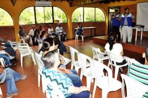 La reunión se realizó en el conjunto residencial El Bosque.  - Suministrada/GENTE DE CAÑAVERAL