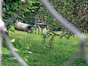 La comunidad también solicita la reparación de algunos puntos del parque, como la zona de juegos. - / GENTE DE CAÑAVERAL