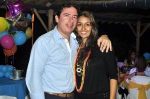 Leonardo García y Mónica Abril. - Laura Herrera / GENTE DE CAÑAVERAL