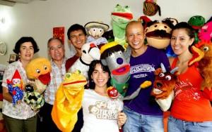 Graciela Mantilla, Alonso Ortiz, Nicolás Tarazona, Sandra Juliana Ortiz Gustavo Flórez  y Mónica Arias.   - Suministrada /GENTE DE CAÑAVERAL