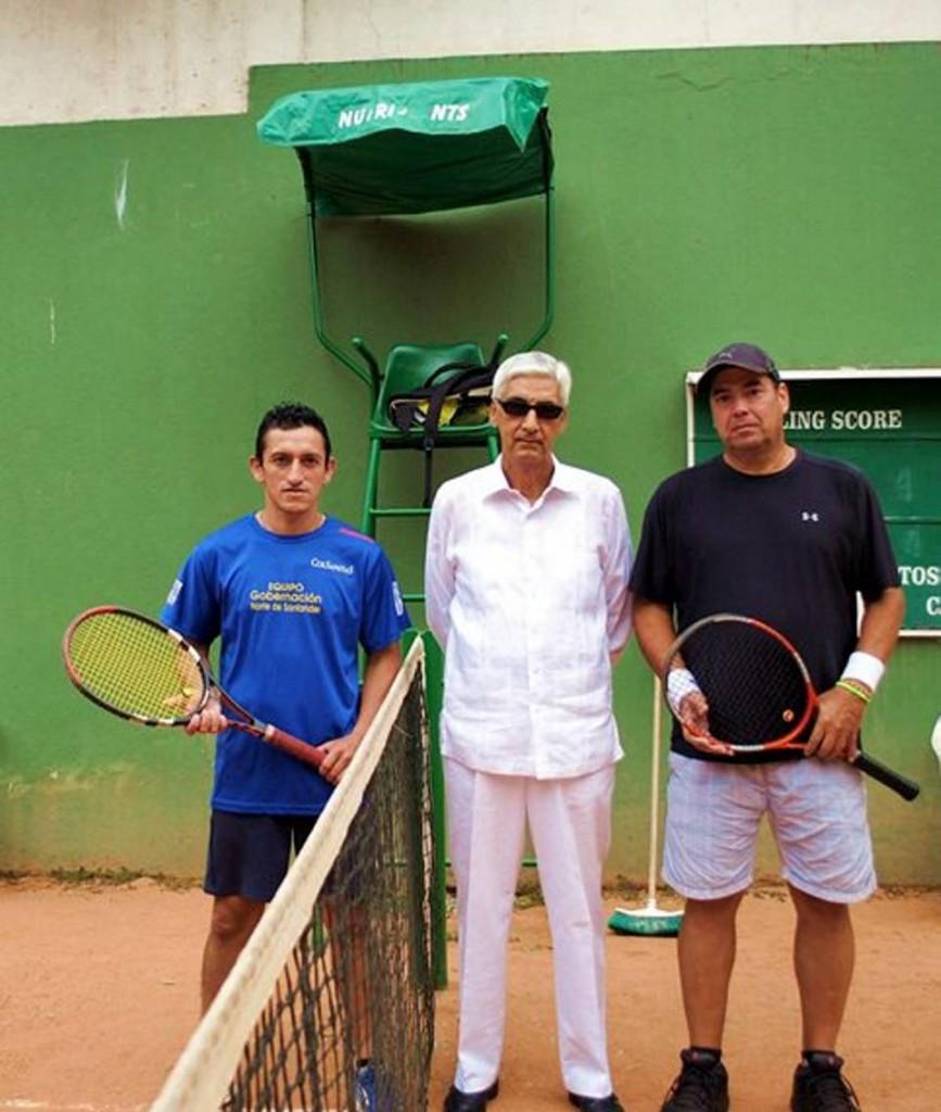 Rodolfo Herrera, Luis Quiñones Sierra  y Jaime Plata.  - Suministrada/GENTE DE CAÑaveral