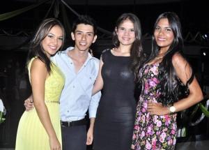 Natalia Suárez, José Julián Gutiérrez, Natalia Gómez y Temi Pertuz. - Fotos: Laura Herrera/GENTE DE CAÑAVERAL