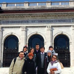 Los estudiantes representaron a Canadá en este encuentro.  - Suministrada / GENTE DE CAÑAVERAL