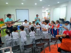 Los niños y niñas participaron de esta jornada. - Suministrada/GENTE DE CAÑAVERAL