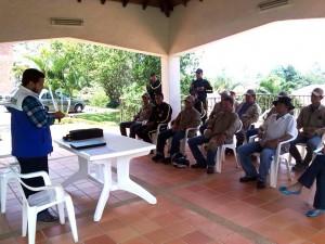 El personal del Ruitoque Condominio fue capacitado por la CDMB.  - Suministrada/GENTE DE CAÑAVERAL