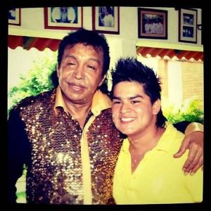 Pipe Villabona, ahora en la categoría Aficionado, le rendirá homenaje este año a Diomedes Díaz. - Tomada de Facebook / GENTE DE CAÑAVERAL