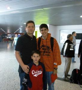 Sus hijos, Nicolás y Santiago son su gran orgullo
